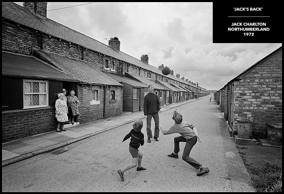 rare photograph jack charlton
