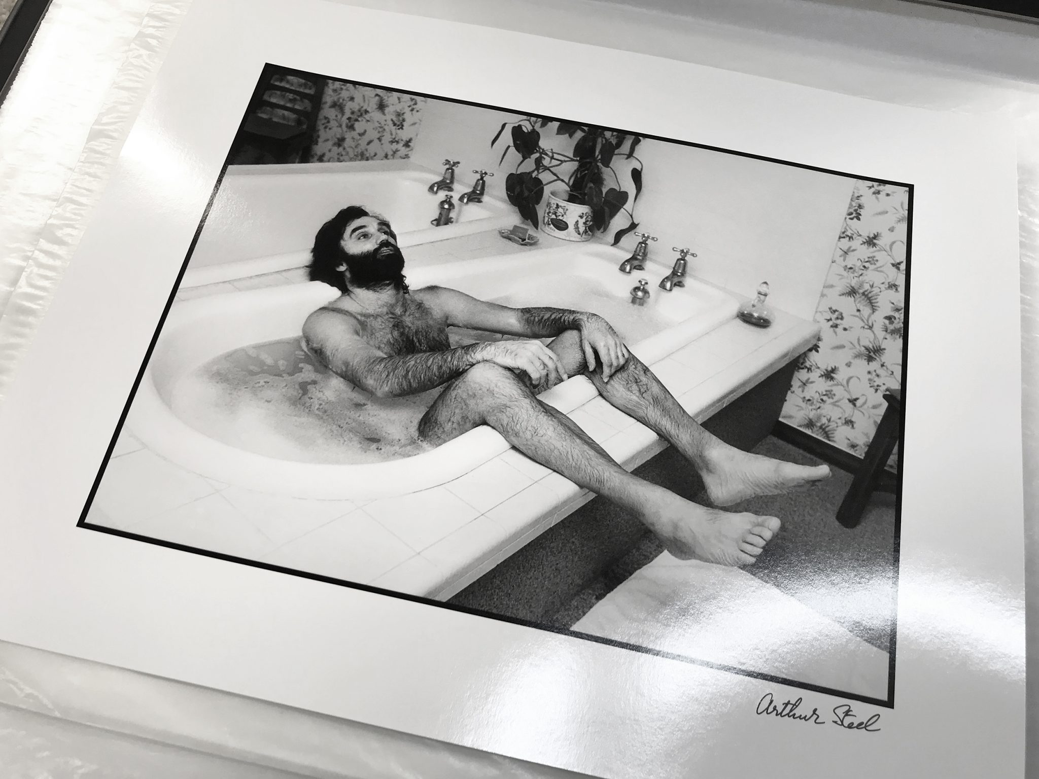 limited edition photograph of george best