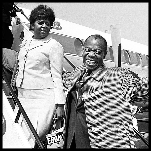 SWEETHEARTS ON PARADE<br>LOUIS & LUCILLE ARMSTRONG