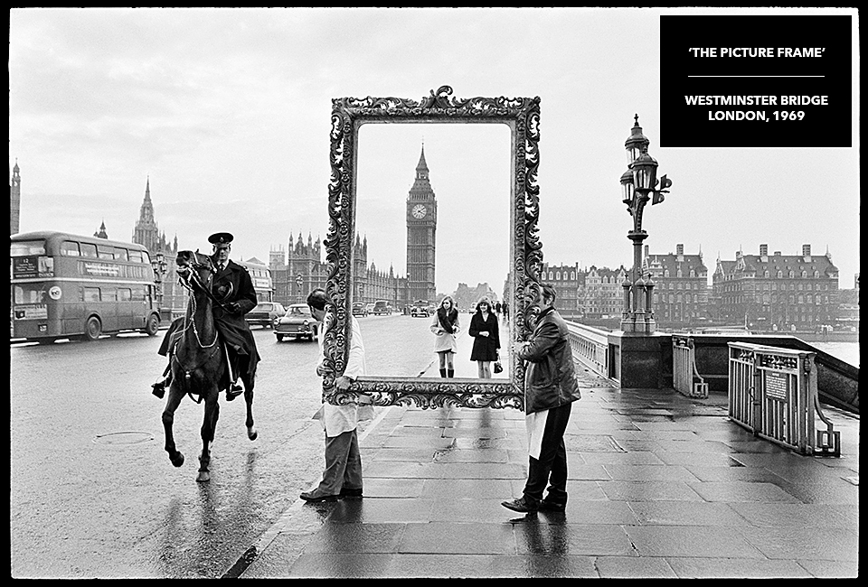 video about the rare photograph the picture frame elizabeth tower big ben london