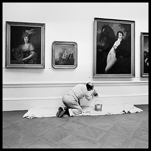 THE PROFESSIONAL PAINTER<br>THE NATIONAL PORTRAIT GALLERY