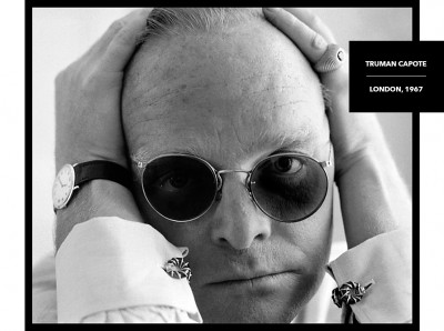rare black and white photograph truman capote