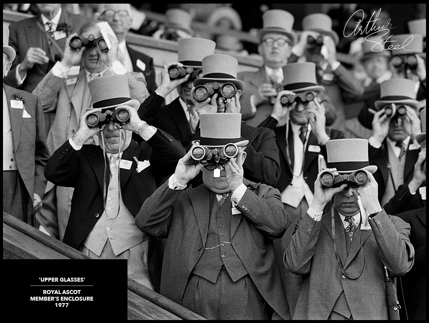 royal ascot rare photograph arthur steel