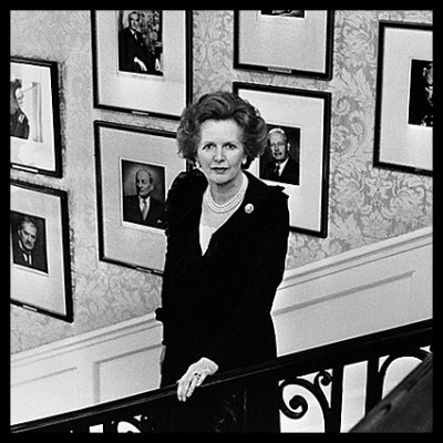 A WOMAN AMONGST MEN<br>MARGARET THATCHER