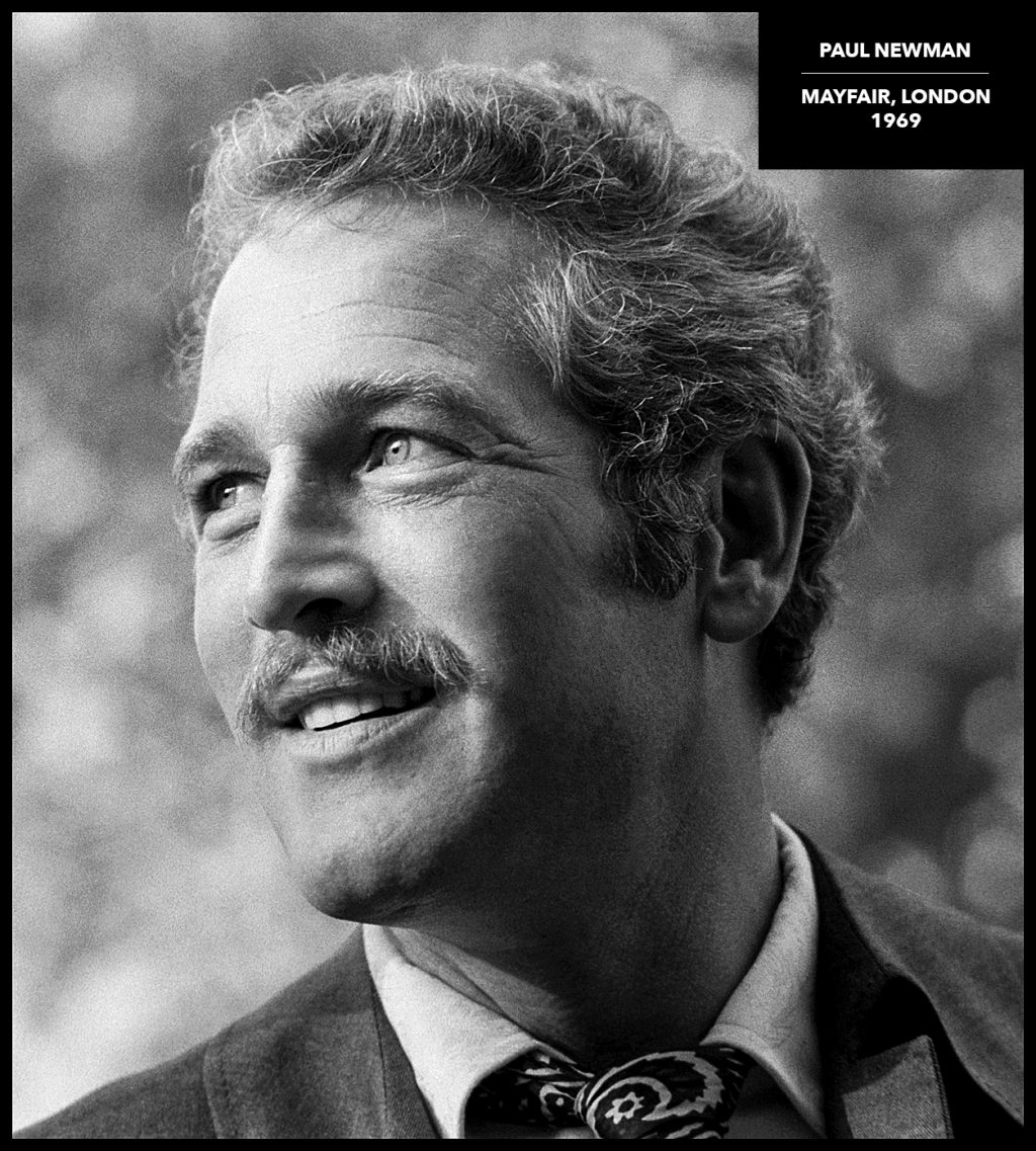 paul newman portrait by arthur steel